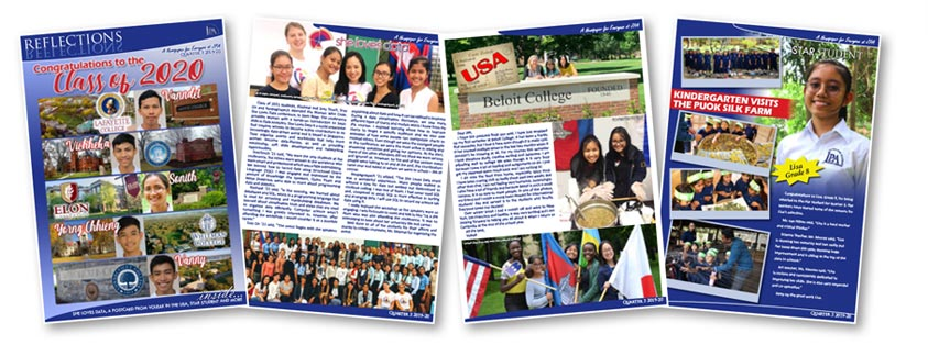 Jay Pritzker Academy, Siem Reap, Cambodia. JPA Reflections Magazine number 24. 2019-2020 Quarter 3. Jay-Pritzker-Academy-Siem-Reap-Cambodia.